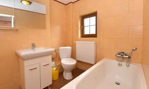 Pension Jizerka koupelna dvoulůžkového pokoje