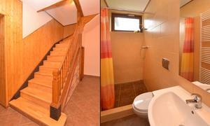 Pension Jizerka schodiště a toalety