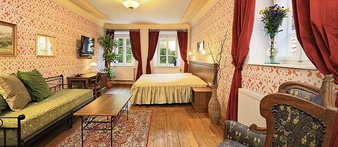 Hotel Ebersbach a depandance Edward Kelly-Český Krumlov-pobyt-Romantika v Depandanci Edward Kelly