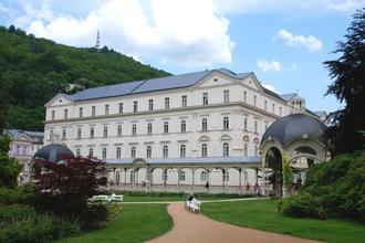 Karlovy Vary-Lázeňský hotel Sadový Pramen