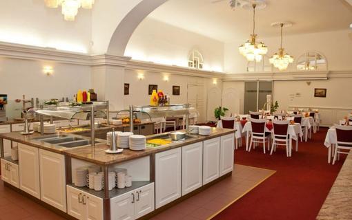 Lázeňský hotel Sadový Pramen Jídelna