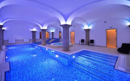 Hotel Malý Pivovar bazén
