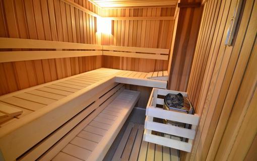 Hotel Malý Pivovar sauna