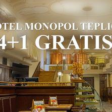 Hotel Pivovar Monopol-Teplice-pobyt-Balíček s jednou nocí zdarma 4 + 1