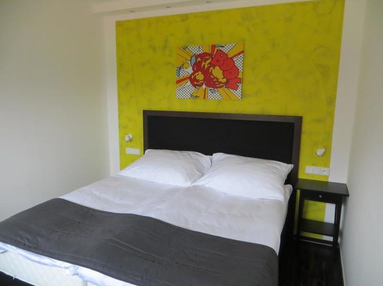 Dvoulůžkový pokoj - ložnice
