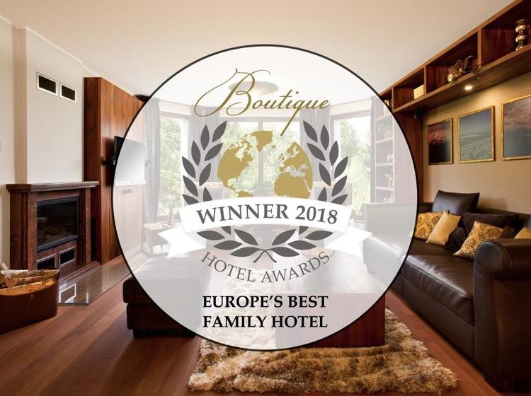 Nejlepší rodinný butikový hotel v Evropě a mezi 4 nejlepšími rodinnými butikovými hotely na světě