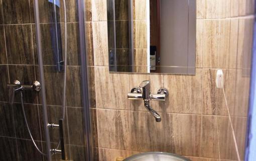 Penzion Alfa Poděbrady Koupelna, Jednolůžkový pokoj 145