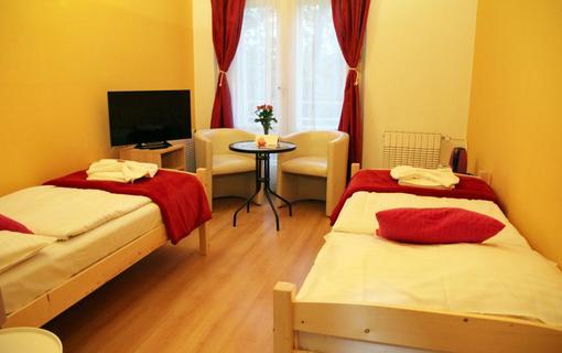 Penzion Alfa Poděbrady Dvoulůžkový pokoj s oddělenými postelemi