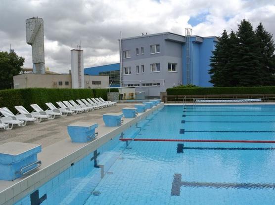 Sport Hotel Sletiště Pohled od letního koupaliště