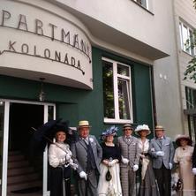 Apartmány kolonáda Poděbrady