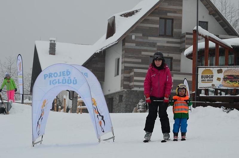 Ski-in & Ski-out Apartments, direct on the ski slope Benecko