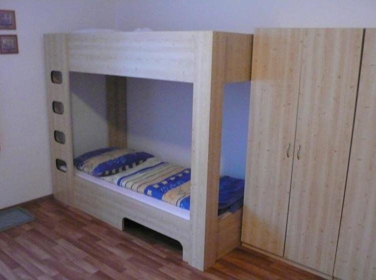 Interiér pokoje v penzionu