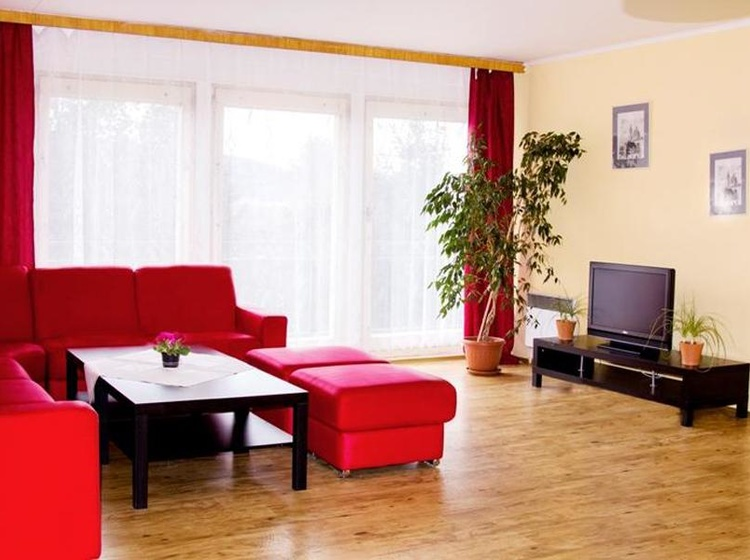 Obývací pokoj chata Losinka