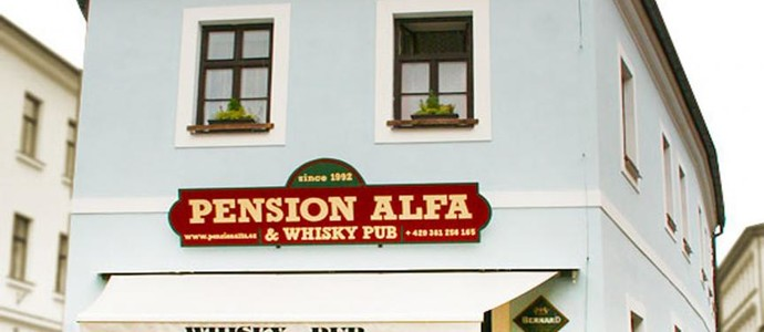 Pension Alfa & Whisky Pub Tábor