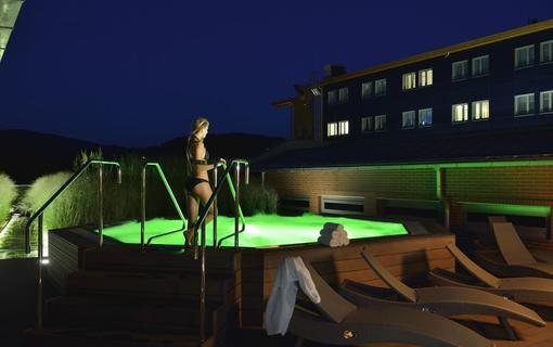 Hotel Vitality Střešní whirlpool