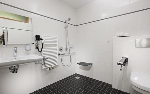 Hotel Vitality Bezbariérový pokoj koupelna