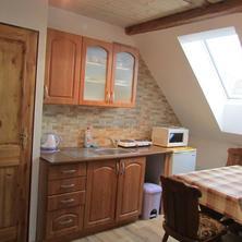 horní apartmán kuchyň