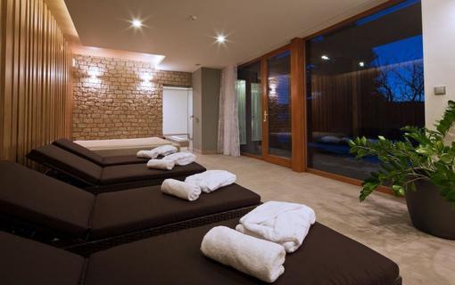 Hotel Líšeňský Dvůr Odpočinková místnost wellnwss