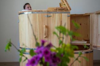 Líšná-pobyt-Relaxační a očistný pobyt v parním cedrovém sudu