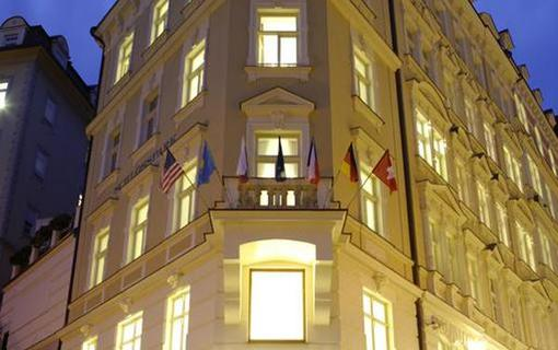 Spa Hotel Schlosspark Exteriér hotelu