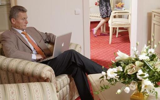 Spa Hotel Schlosspark Pokoj kategorie Lux - obývací pokoj