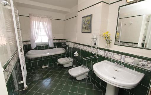 Spa Hotel Schlosspark Apartmá Venezia - koupelna