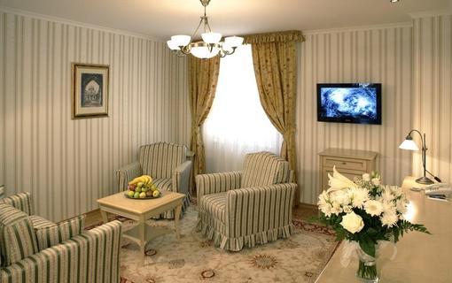 Spa Hotel Schlosspark Obývací pokoj