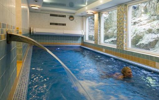 Spa Hotel Schlosspark Bazén