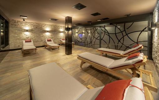 Wellness Hotel Astra superior odpočívárna