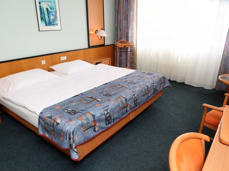 Pokoj Superior s manželskou postelí