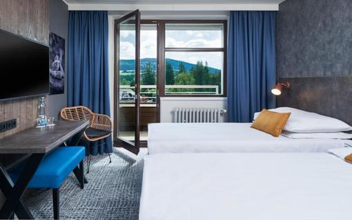 OREA Resort Devět Skal Vysočina deluxe pokoj