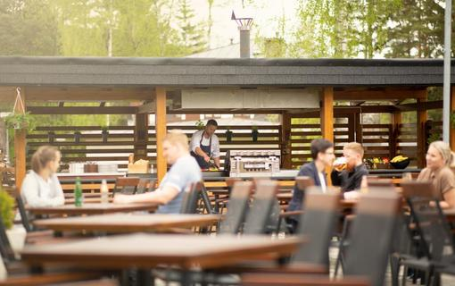 OREA Resort Devět Skal Vysočina Letní terasa