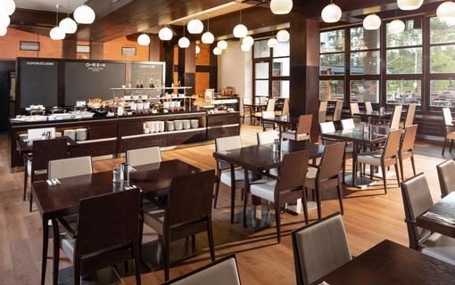 OREA Resort Devět Skal Vysočina Restaurace a prostor pro snídaně
