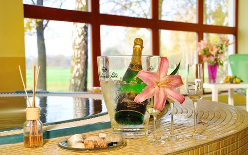 Design hotel RomantiCK Romantika v květinové wellness zóně Slunečnice.