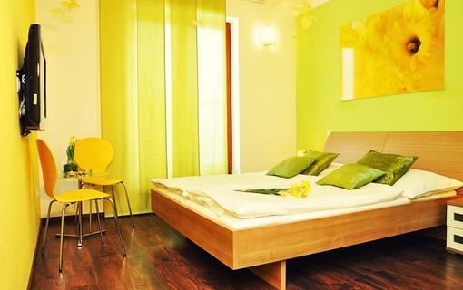 Design hotel RomantiCK Pokoj klasik Narcis.