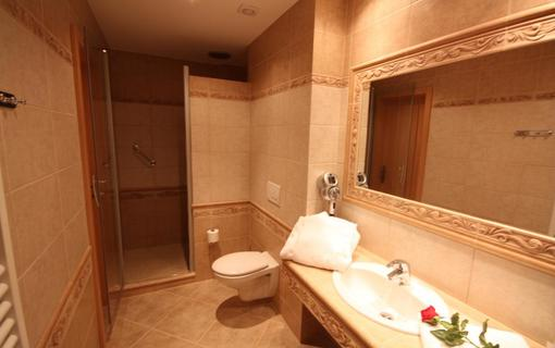 Hotel Bajkal koupelna 1.A