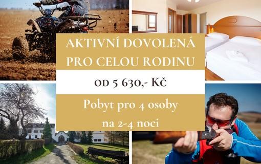 Aktivní dovolená pro celou rodinu na 4 noci-Hotel Štamberk 1153860879