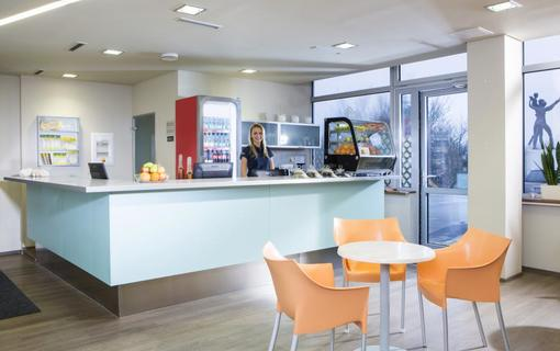 OREA Resort Santon Brno wellness - recepce