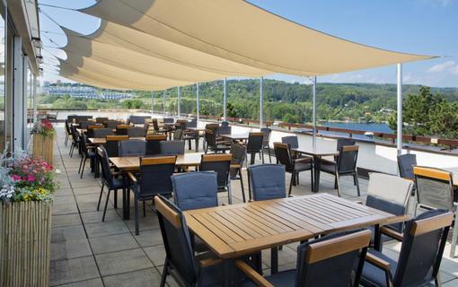 OREA Resort Santon Brno terasa1