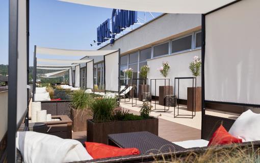 OREA Resort Santon Brno terasa