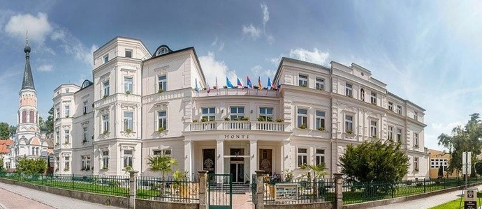 MONTI SPA HOTEL Františkovy Lázně