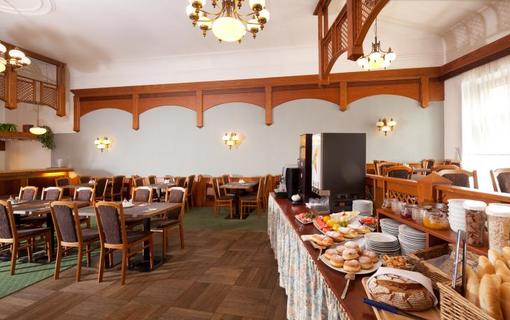 Hotel Concertino Zlatá Husa Snídaně Hotel Concertino Zlatá Husa