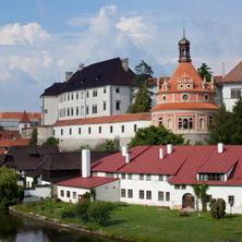 Hotel Concertino Zlatá Husa -Jindřichův Hradec-pobyt-S rodinou na jih Čech