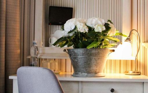 Hotel MAXANT Vybaveni dvouluzkoveho pokoje v hotelu Maxant