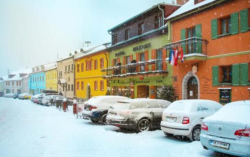 Hotel MAXANT Hotel Maxant v zime
