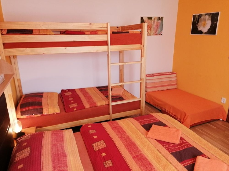 Apartmán č.2 ložnice
