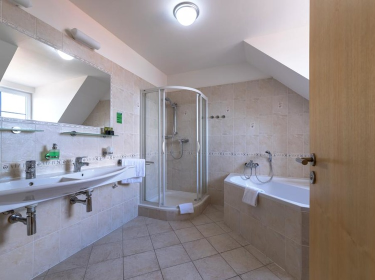 Wellness Hotel Iris APT Koupelna 2