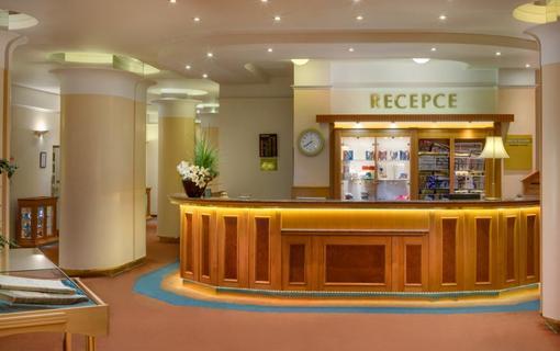 Centrální Lázně – Maria Spa Ensana Health Spa Hotel Recepce