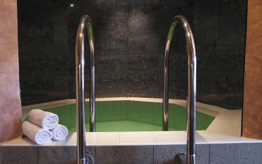 Wellness hotel Jean de Carro studený bazének u sauny