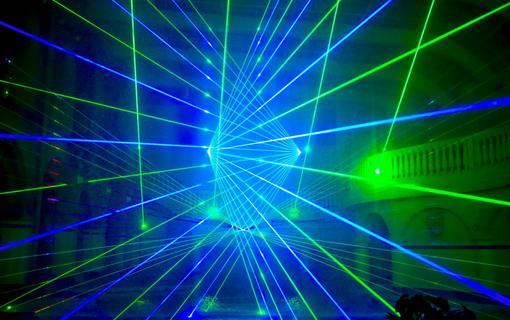 WELLNESS HOTEL BABYLON Laser show v Aquaparku